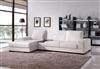 Divani Casa 1108 Modern White Fabric Sectional Sofa by VIG Furniture