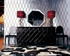 Armani Xavira A&X Casa Luxury Monte Cristo Black Crocodile Lacquer Buffet by VIG Furniture
