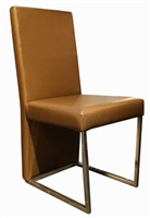 Armani Xavira A&X Casa Luxury 0099 Modern Gold Leatherette Dining Chair by VIG Furniture