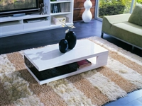 Modrest 5010C - Modern White and Black Coffee Table by VIG Furniture