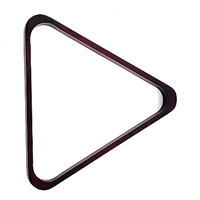 Mahogany Deluxe Wood Triangle