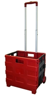 Red and Black Large Folding Cart