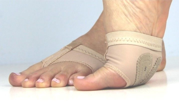 Foot Thong half lyrical shoe nude colour toe undies dance paws