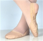 Rhythmic Gymnastics toe shoes, half lyrical shoes nude colour