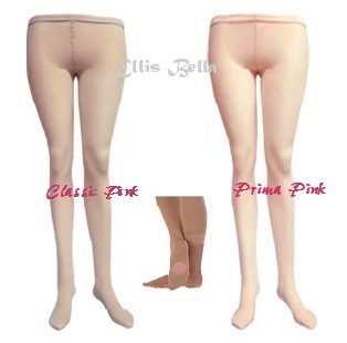 Ballet pink / nude colour convertible tights