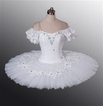 Ballet performance tutu -- Perfomance quality in pure white for adult