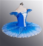 Ballet performance tutu -- Perfomance quality in Royal blue for adult