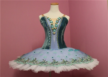 Ballet performance tutu -- Perfomance quality in Turquoise green for adult