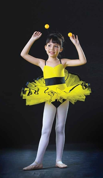 Themed -- Bumble Bee Tutu