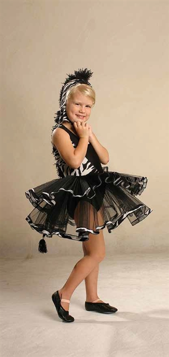 Themed -- Zebra tutu