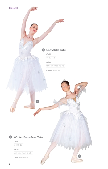 Romantic Tutu -- Snowflakeromantic tutu