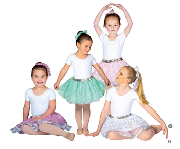Children's tutu -- I Feel Pretty Lace kirt
