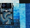 Spin Out Quilt Kit-Blue 1 by KwiltArt