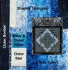 Spin Out Quilt Kit-Marine Blue by KwiltArt