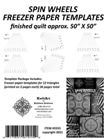Spin Wheels Freezer Paper Templates