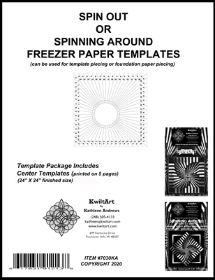 Spin Out Freezer Paper Templates Package