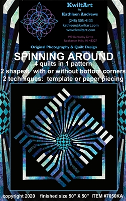 Spinning Around Quilt Pattern
