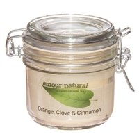 Orange, Clove and Cinnamon Candle, 200ml Clip Jar