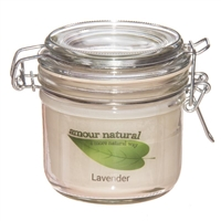 Lavender Candle, 200ml Clip Jar