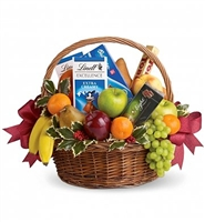 Fruit & Chocolate Goody Basket