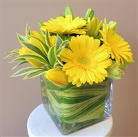 Lemon Drop Swirl Bouquet
