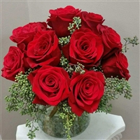 I Love Red Roses Bouquet