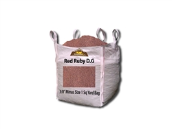 "Ruby Red D. G. 3/8"" Minus"