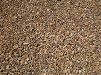 "Cinnamon Brown Gravel 1"" Per Ton"