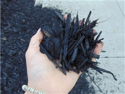 Black Colored Landscape Mulch Per Yard