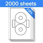 Neato CLP-192217 Compatible - Labels on Sheets (1 Carton - 2000 Sheets)