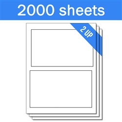 PayPal Online Postage Labels (1 Carton - 2000 Sheets)
