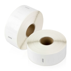"Dymo Compatible 1933085 Plastic Poly Labels 3/4"" x 2-1/2"""