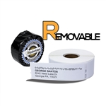 "Dymo Compatible Removable 30252 - 1-1/8"" x 3-1/2"" Address Labels"