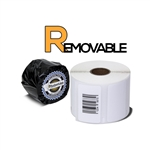 "Dymo Compatible Removable 30334 - 2-1/4"" x 1-1/4"" Labels"