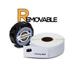 "Dymo Compatible Removable 30336 - 1"" x 2-1/8"" Multipurpose Labels"