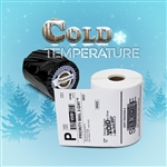 "Dymo Compatible Cold Weather 1744907 - 4"" x 6"" 4XL Shipping Labels"
