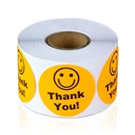 Thank You - Orange - Stickers