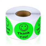 Thank You - Green - Stickers