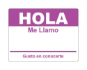 Hola Sticker - Purple