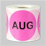 Months of the year: August Sticker 2""
