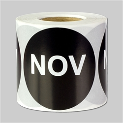 Months of the year: November Sticker 2""