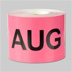 Months of the year: August Sticker