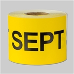 Months of the year: September Sticker