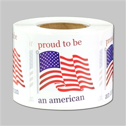 Proud to be an American Sticker
