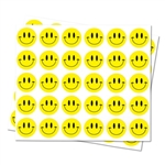 Round Happy Face Happy Sticker