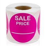 Sale Price Stickers -  Pink