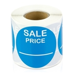Sale Price Stickers -  Light Blue