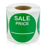 Sale Price Stickers - Green