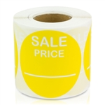 Sale Price Stickers -  Yellow