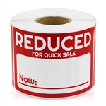 Reduced Now for Quick Sale Stickers